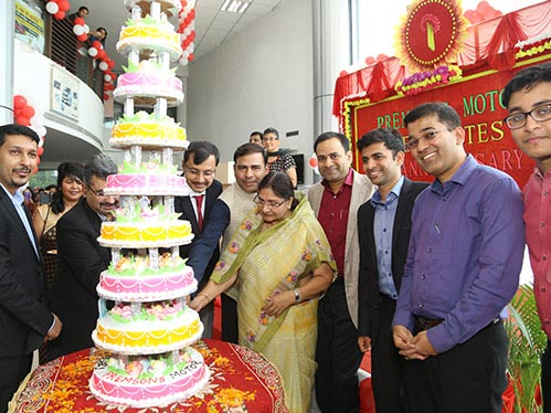Birthday Ceremony at Our Muruti Showroom in Ranchi